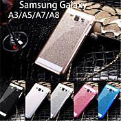 Etui Til Samsung Galaxy Samsung Galaxy Etui Annen Heldekkende etui Glimtende Glitter PC til A8 A7 A5 A3