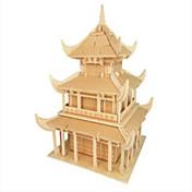 직소 퍼즐 나무 퍼즐 빌딩 블록 DIY 장난감 유명한 빌딩 중국건축물 1 나무 크리스탈 모델 & 조립 장난감