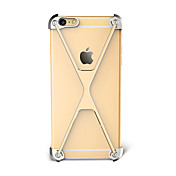 케이스 커버 Apple 용 iPhone 7 iPhone 7 Plus iPhone 6 범퍼 충격방지 한 색상 하드 알루미늄 iPhone 7 Plus iPhone 7 iPhone 6s Plus iPhone 6 Plus iPhone 6s iPhone 6