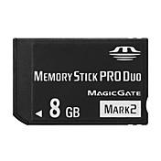 Other 8GB Tarjeta de Memoria Stick PRO Duo Clase 10