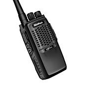 wanhua 825 Walkie-talkie Håndholdt Dobbelt bånd Programmeringskabel Strømsparefunksjon >10 km >10 km 6 Walkie Talkie Toveis radio