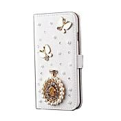 용 카드 홀더 스탠드 케이스 풀 바디 케이스 버터플라이 하드 인조 가죽 용 Apple iPhone 6s Plus/6 Plus iPhone 6s/6