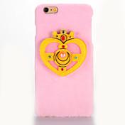 Etui Til Apple iPhone 7 Plus iPhone 7 Speil GDS Bakdeksel 3D-tegneseriefigur Hard tekstil til iPhone 7 Plus iPhone 7 iPhone 6s Plus