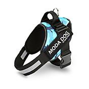 Perro Bozales Ajustable / Retractable Reflexivo Transpirable Seguridad Entrenamiento Carrera A Lunares Corazón camuflaje Hueso Estrellas