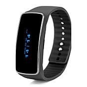 Smart armbånd til iOS / Android Blodtrykksmåling / Kalorier brent / Lang Standby / Pekeskjerm / Vannavvisende Stoppeklokke / Aktivitetsmonitor / Søvnmonitor / Finn min enhet / Vekkerklokke / 64MB