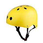 KUYOU Casco de patinaje Niños Casco CE Certificación Ajustable One Piece Montaña Transpirable Protector Deportes Juvenil para Ciclismo