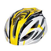 스포츠 남여 공용 자전거 헬멧 27 통풍구 싸이클링 사이클링 산악 사이클링 도로 사이클링 레크리에이션 사이클링 하이킹 클라이밍 PC EPS 옐로우 레드 블랙 블루