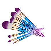 7pcs Profesjonell Makeup børster Børstesett / Konturbørste / Foundationbørste Kunstig fiber børste / Syntetisk hår Bærbar / Reisen /