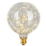 2W E26/E27 Bombillas de Filamento LED G95 47 leds LED Integrado Decorativa Blanco Cálido 300lm 2700K AC 100-240V