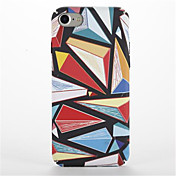 Para Carcasa Funda Diseños Cubierta Trasera Funda Diseño Geométrico Dura Policarbonato para AppleiPhone 7 Plus iPhone 7 iPhone 6s Plus