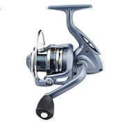 Carrete de la pesca Carretes para pesca spinning 5.5:1 Relación de transmisión+6 Rodamientos de bolas Orientación de las manos