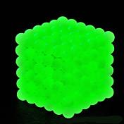 Magnetiske leker Magiske kuber Neodym-magnet Magnetiske kuler Supersterke neodyme magneter Stresslindrende leker 216pcs 5mm Selvlysende