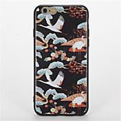 용 패턴 케이스 뒷면 커버 케이스 동물 소프트 TPU 용 Apple 아이폰 7 플러스 아이폰 (7) iPhone 6s Plus iPhone 6 Plus iPhone 6s 아이폰 6