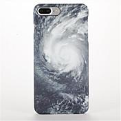 Etui Til Apple iPhone 7 Plus iPhone 7 Matt Mønster Bakdeksel Himmel Landskap Hard PC til iPhone 7 Plus iPhone 7 iPhone 6s Plus iPhone 6s