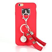 Para Manualidades Funda Cubierta Trasera Funda Un Color Dura Policarbonato para AppleiPhone 7 Plus iPhone 7 iPhone 6s Plus iPhone 6 Plus