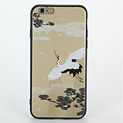Para Diseños Funda Cubierta Trasera Funda Animal Suave TPU para AppleiPhone 7 Plus iPhone 7 iPhone 6s Plus iPhone 6 Plus iPhone 6s iphone