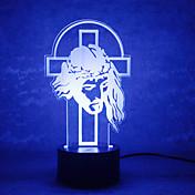 LED Night Light USB Lys Natt Lys-0.5W