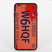 Etui Til Apple iPhone 7 Plus iPhone 7 Mønster Bakdeksel Ord / setning Hard PC til iPhone 7 Plus iPhone 7 iPhone 6s Plus iPhone 6s iPhone