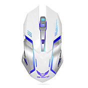 ZERODATE 무선 게임 마우스 충전식 조정 가능한 DPI 백라이트