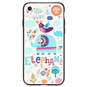 Etui Til Apple iPhone 7 Plus iPhone 7 Mønster Bakdeksel Elefant Hard PC til iPhone 7 Plus iPhone 7 iPhone 6s Plus iPhone 6s iPhone 6 Plus