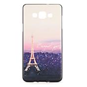 Para Carcasa Funda Diseños Cubierta Trasera Funda Torre Eiffel Suave TPU para Samsung A7 A5