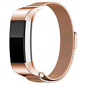 20mm 로즈 골드 milan band for fitbit charge2