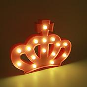 Lámpara llevada plástica de la luz de la noche de 1pc 3d cabritos del dormitorio del sitio lámpara de cabecera partido de la boda de la