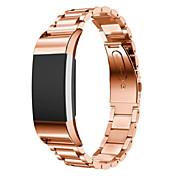 Klokkerem til Fitbit Charge 2 Fitbit Sportsrem Metall Rustfritt stål Håndleddsrem