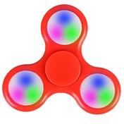 Fidget spinners Hilandero de mano Juguetes Tri-Spinner Plástico EDCJuguete del foco Alivia ADD, ADHD, Ansiedad, Autismo Alivio del estrés