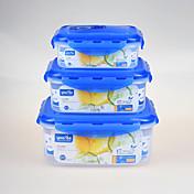 3 Cocina Plástico Fiambreras