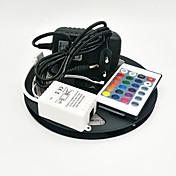 ZDM® 5 m Tiras de Luces RGB 300 LED 3528 SMD RGB Control remoto / Cortable / Regulable 100-240 V / Conectable / Auto-Adhesivas / Color variable / IP44