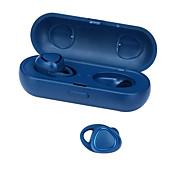 SM-R150 귀에 무선 헤드폰 동적 플라스틱 운전 이어폰 미니 충전 박스 포함 마이크 포함 헤드폰