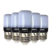 HKV 3W 200-300 lm E14 E26/E27 LED 콘 조명 20 LED가 SMD 5736 따뜻한 화이트 차가운 화이트 AC 220-240V