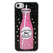 Funda Para Apple iPhone 7 Plus iPhone 7 Líquido Diseños Funda Trasera Comida Unicornio Brillante Dura ordenador personal para iPhone 7