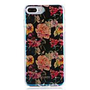 애플 아이폰 7 7plus 케이스 커버 패턴 다시 커버 케이스 꽃 부드러운 tpu 6s 플러스 6 플러스 6s 6