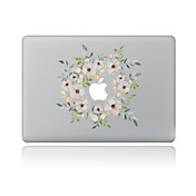 1 pieza Adhesivo para Anti-Arañazos Floral Diseño PVC MacBook Pro 15'' with Retina MacBook Pro 15 '' MacBook Pro 13'' with Retina MacBook