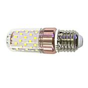 9W 600lm LED-kornpærer 65 LED perler SMD 2835 Varm hvit / Hvit 220-240V