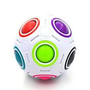Cubo de rubik Balones arco iris mágicos Cubo velocidad suave Cubos mágicos Antiestrés rompecabezas del cubo Brillante Rectangular