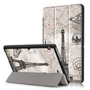 Etui Til Huawei Heldekkende etui Tablet Cases Hard PU Leather til