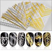 # klistremerker og tapes neglelakk dekaler nail art design