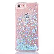 제품 iPhone X iPhone 8 iPhone 8 Plus 아이폰5케이스 케이스 커버 플로잉 리퀴드 투명 뒷면 커버 케이스 글리터 샤인 하드 PC 용 iPhone X iPhone 8 Plus iPhone 8 아이폰 7 플러스 아이폰 (7)