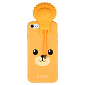 Funda Para Apple iPhone 7 Plus iPhone 7 Diseños Funda Trasera Dibujo 3D Animal Suave TPU para iPhone 7 Plus iPhone 7 iPhone 6s Plus