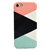 Etui Til Apple iPhone 7 Plus iPhone 7 Mønster Bakdeksel Geometrisk mønster Hard PC til iPhone 7 Plus iPhone 7 iPhone 6s Plus iPhone 6s
