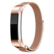 fitbit 알타 스마트 시계 용 밀라노 스트랩 - fitbit 용 로즈 골드 시계 밴드