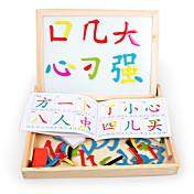 Puzzle Juguete para Dibujar Madera Natural 6 años de edad en adelante 3-6 años de edad