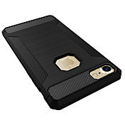 Funda Para Apple iPhone 7 Plus iPhone 7 Antigolpes Funda Trasera Color sólido Suave Silicona para iPhone 7 Plus iPhone 7 iPhone 6s Plus