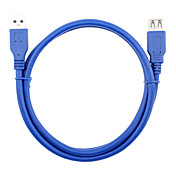 USB 3.0 Cable de extensión, USB 3.0 to USB 3.0 Cable de extensión Macho - Hembra 0,6 m (2Ft)
