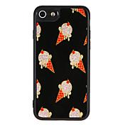 케이스 제품 Apple iPhone 7 Plus iPhone 7 패턴 뒷면 커버 음식 글리터 샤인 하드 PC 용 iPhone 7 Plus iPhone 7 iPhone 6s Plus iPhone 6s iPhone 6 Plus iPhone 6