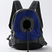 고양이 강아지 캐리어&여행용 배낭 전면 배낭 개 팩 애완동물 캐리어 조절 가능/리트랙터블 휴대용 더블-사이드 통기성 폴더 소프트 솔리드 옐로우 블루