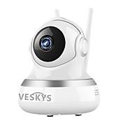 veskys ® 2.0mp 1080p의 HD 와이파이 보안 감시 IP 카메라 구름 스토리지 양방향 오디오 원격 모니터